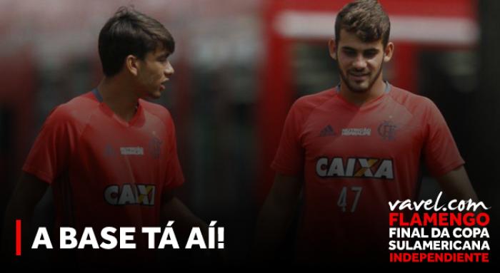 A base tá aí! Garotos do Ninho crescem no Flamengo e são peças essenciais na Sul-Americana