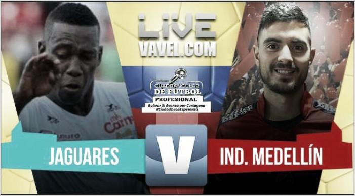 Resultado Jaguares de Córdoba vs Medellín por el Torneo Bolívar Sí Avanza (1-1)