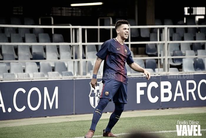 Carles Pérez conduce al Barça B a la victoria