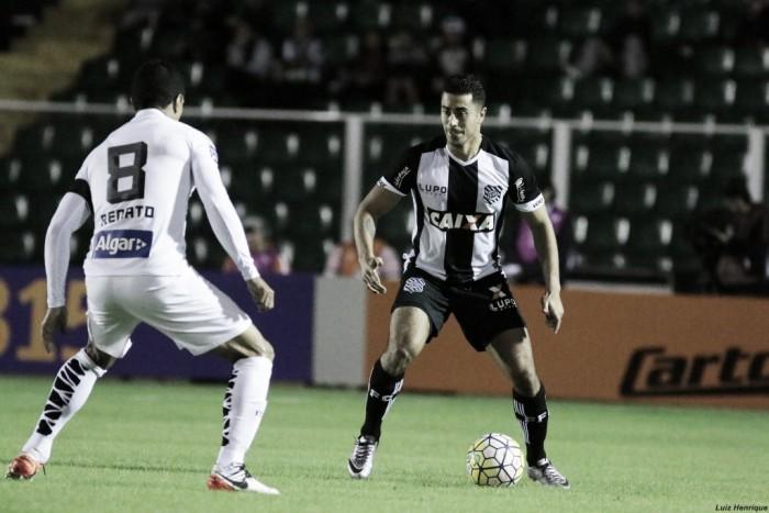 Em jogo nervoso, Santos sofre empate no fim contra Figueirense