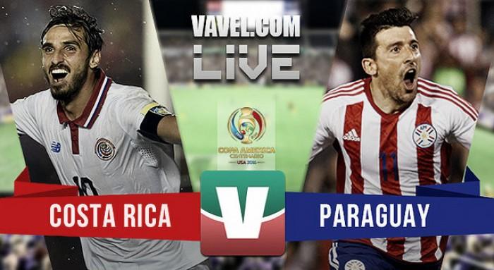 Resultado partido Paraguay 0-0 Costa Rica: Albirrojos y Ticos, en tablas