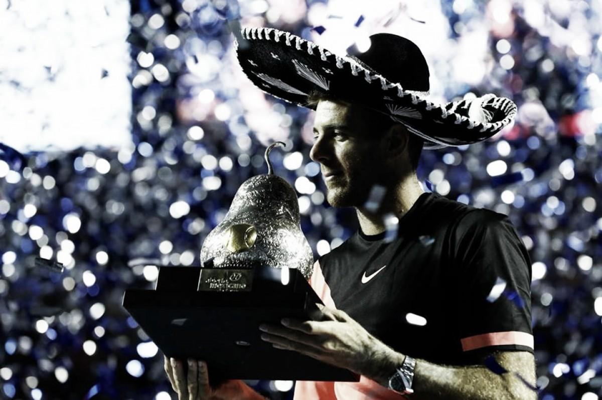 Del Potro arrasa Kevin Anderson e conquista o título do ATP 500 de Acapulco
