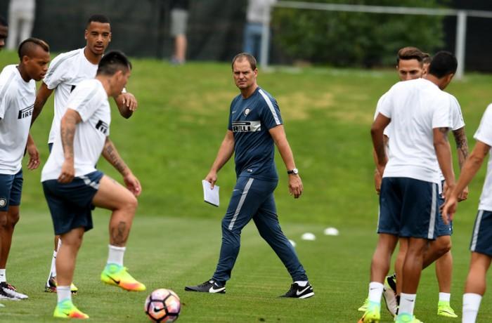 Inter, la prima di De Boer con il Borussia Moenchengladbach