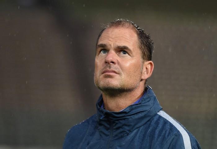 Inter, la prima di De Boer è con il Celtic