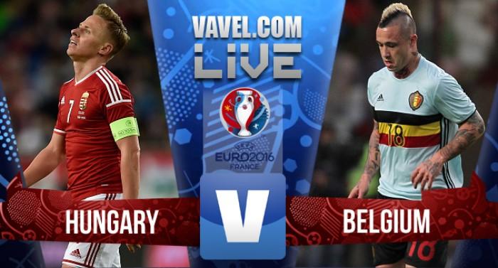 Resultado Hungria x Bélgica pela Eurocopa 2016 (0-4)