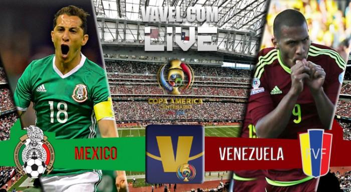 Jogo México x Venezuela na Copa América Centenário