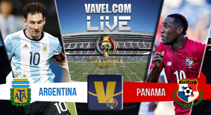 Score Argentina - Panama in Copa America Centenario (5-0)