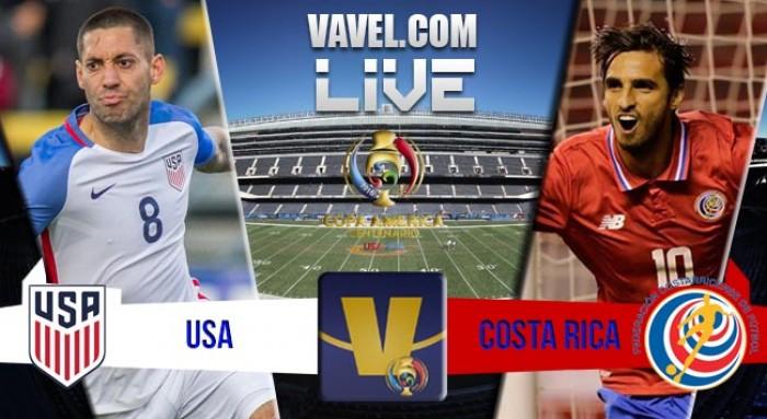 Resultado Estados Unidos x Costa Rica na Copa América Centenário (4-0)
