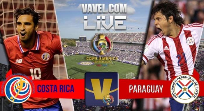 Resultado Costa Rica x Paraguai na Copa América 2016 (0-0)