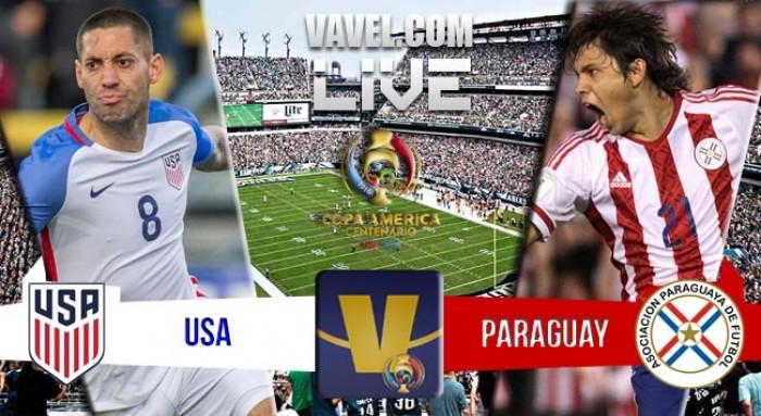 Resultado Estados Unidos x Paraguai na Copa América Centenário (1-0)