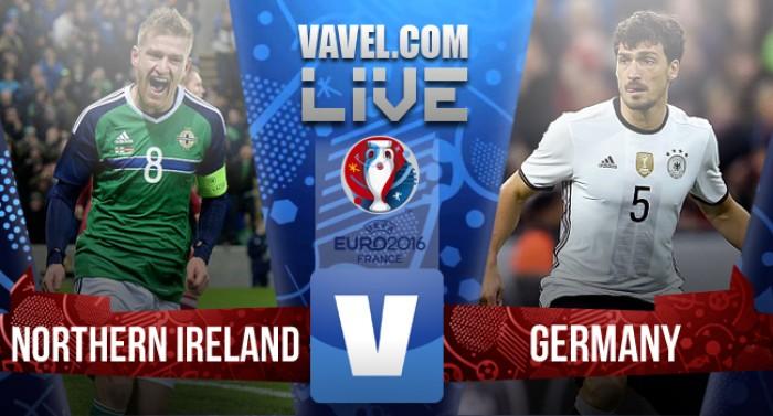 Resultado Irlanda do Norte x Alemanha pela Eurocopa 2016 (0-1)