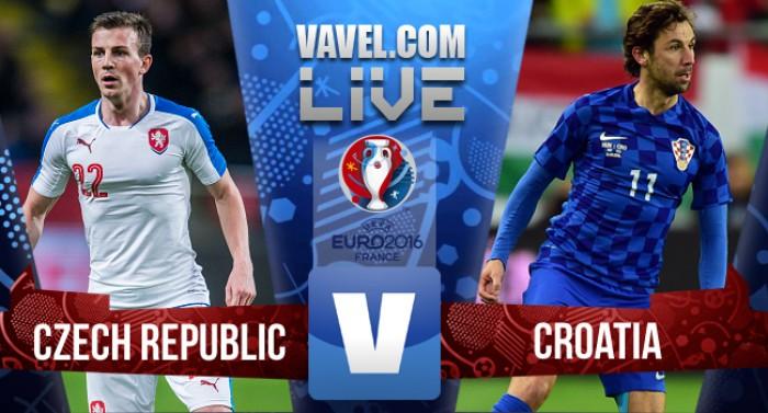Risultato Live Repubblica Ceca - Croazia in Euro 2016 (2-2)