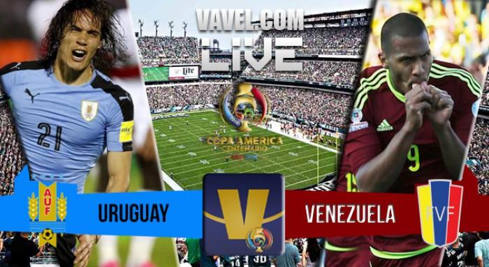 Resultado Uruguai x Venezuela na Copa América Centenário 2016 (0-1)