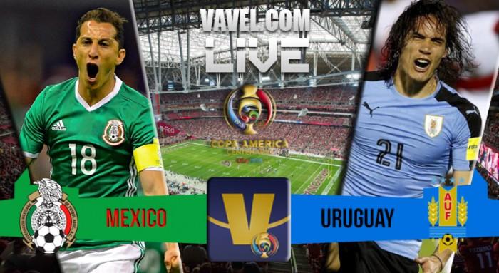 Score Mexico - Uruguay in Copa America Centenario (3-1)