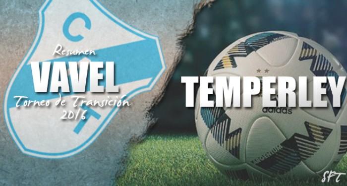 Resumen VAVEL Torneo de Transición 2016: Temperley