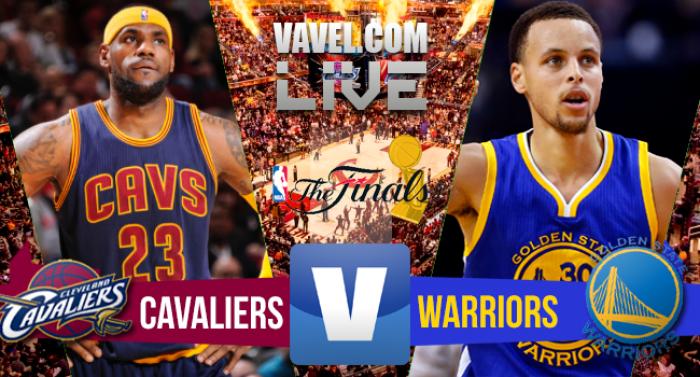 Resultado Final NBA: Cleveland Cavaliers x Golden State Warriors em jogo 3 (120-90)
