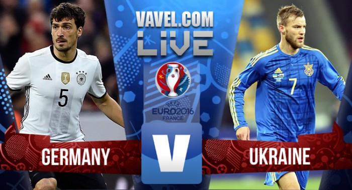 Resultado Alemanha x Ucrânia pela Eurocopa 2016 (2-0)