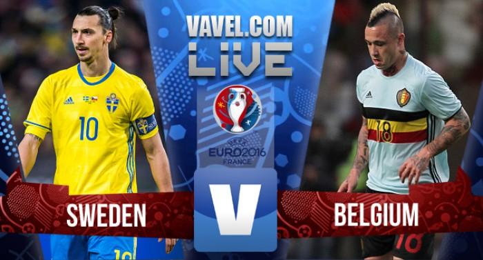 Resultado Suécia x Bélgica pela Eurocopa 2016 (0-1)