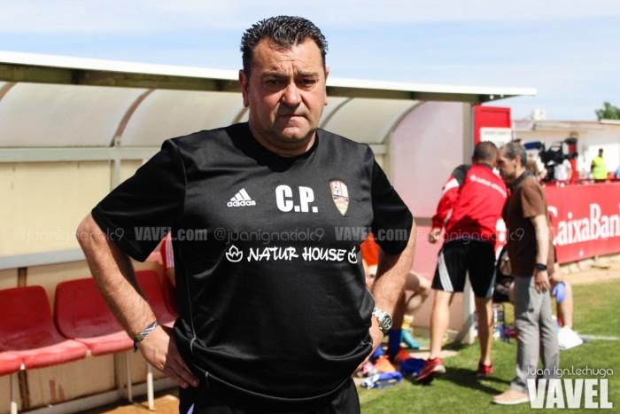 """Carlos Pouso: """"Hemos dado la cara y no hemos sido capaces de revertir el resultado"""""""