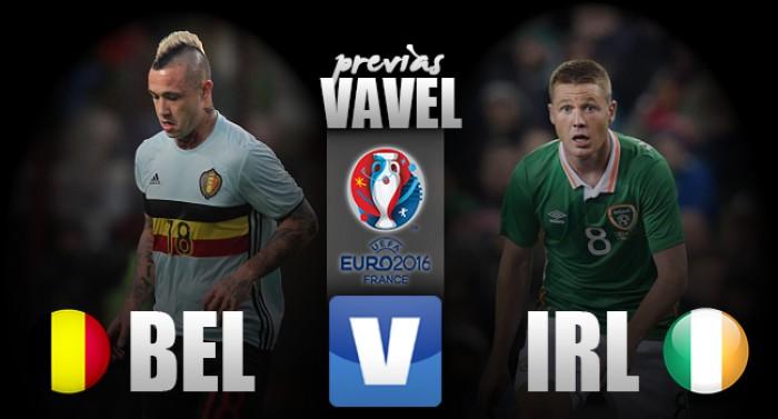 Bélgica e Irlanda se enfrentam pela sobrevivência na Eurocopa