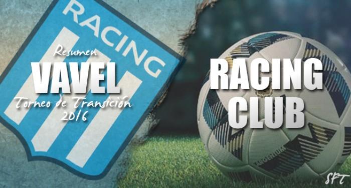 Resumen VAVEL Torneo de Transición 2016: Racing Club