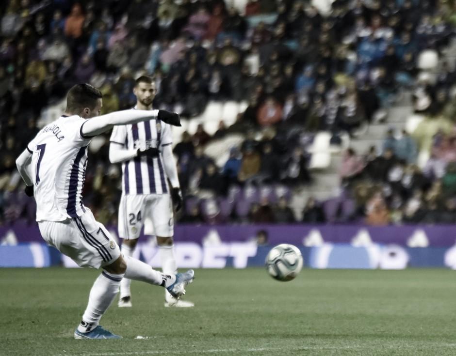 El Valladolid pierde dos puntos en el minuto 94