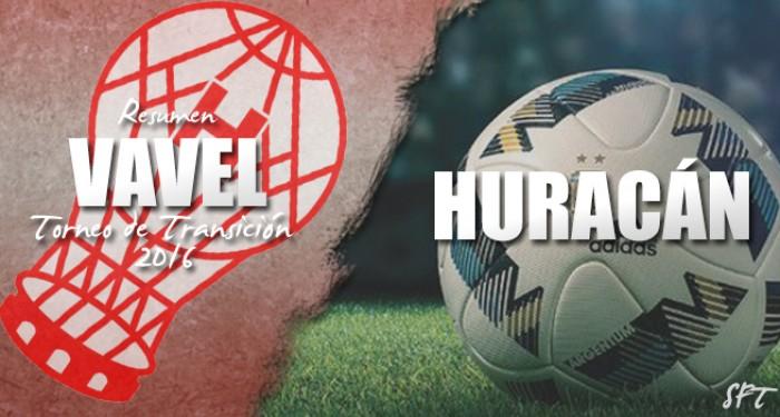 Resumen VAVEL Torneo de Transición 2016: Huracán