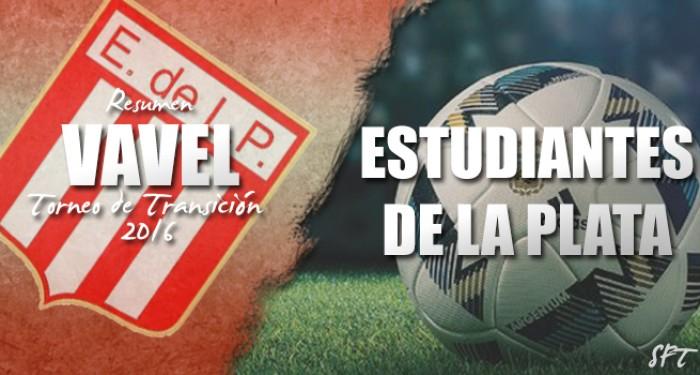 Resumen VAVEL Torneo de Transición 2016: Estudiantes de La Plata