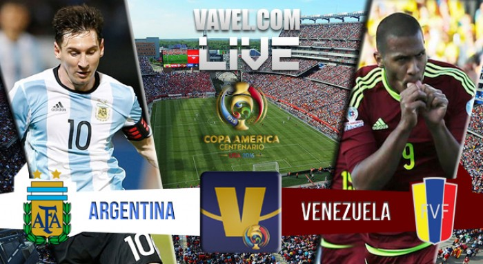Resultado Argentina x Venezuela na Copa América (4-1)