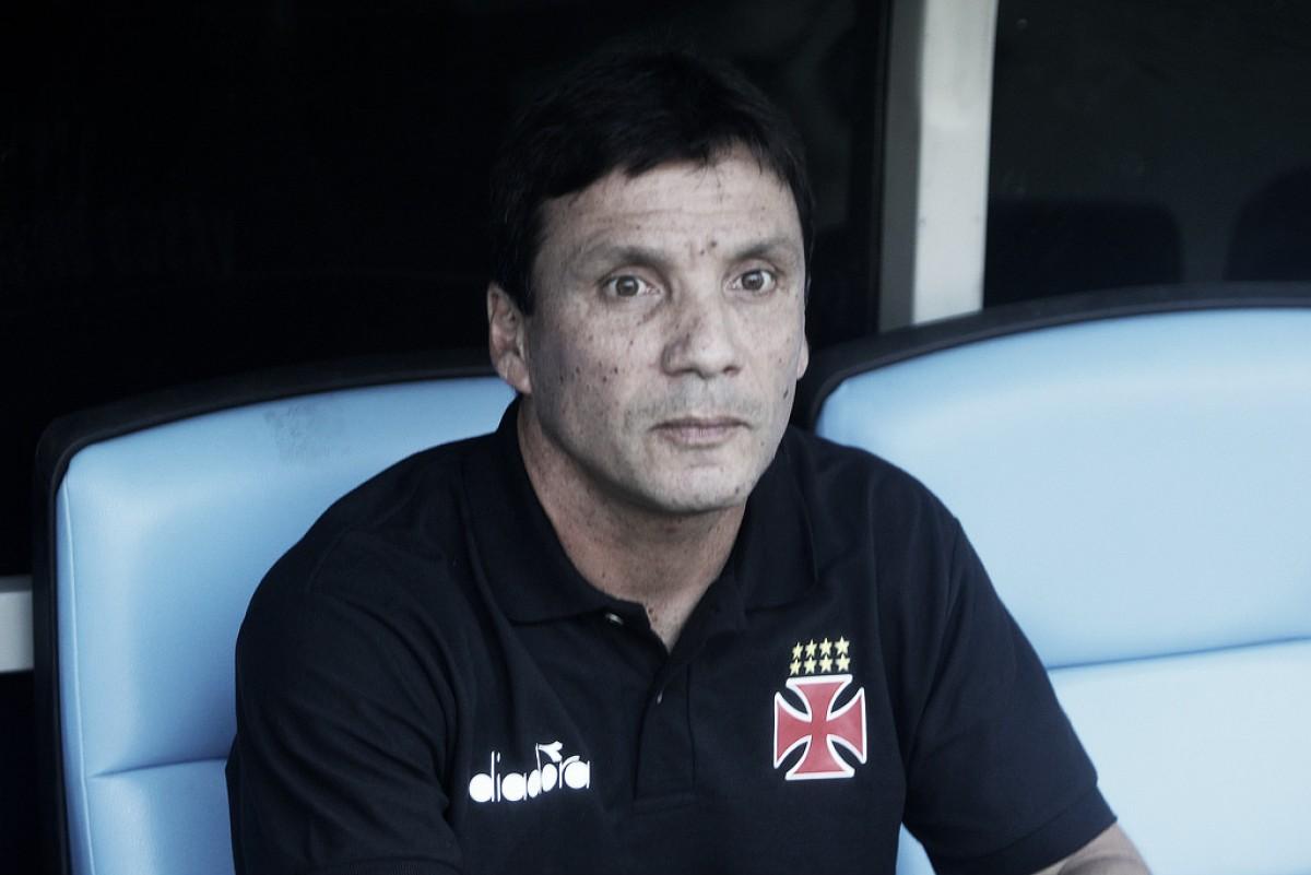 Eleito melhor treinador do Carioca, Zé Ricardo elogia postura da equipe vascaína
