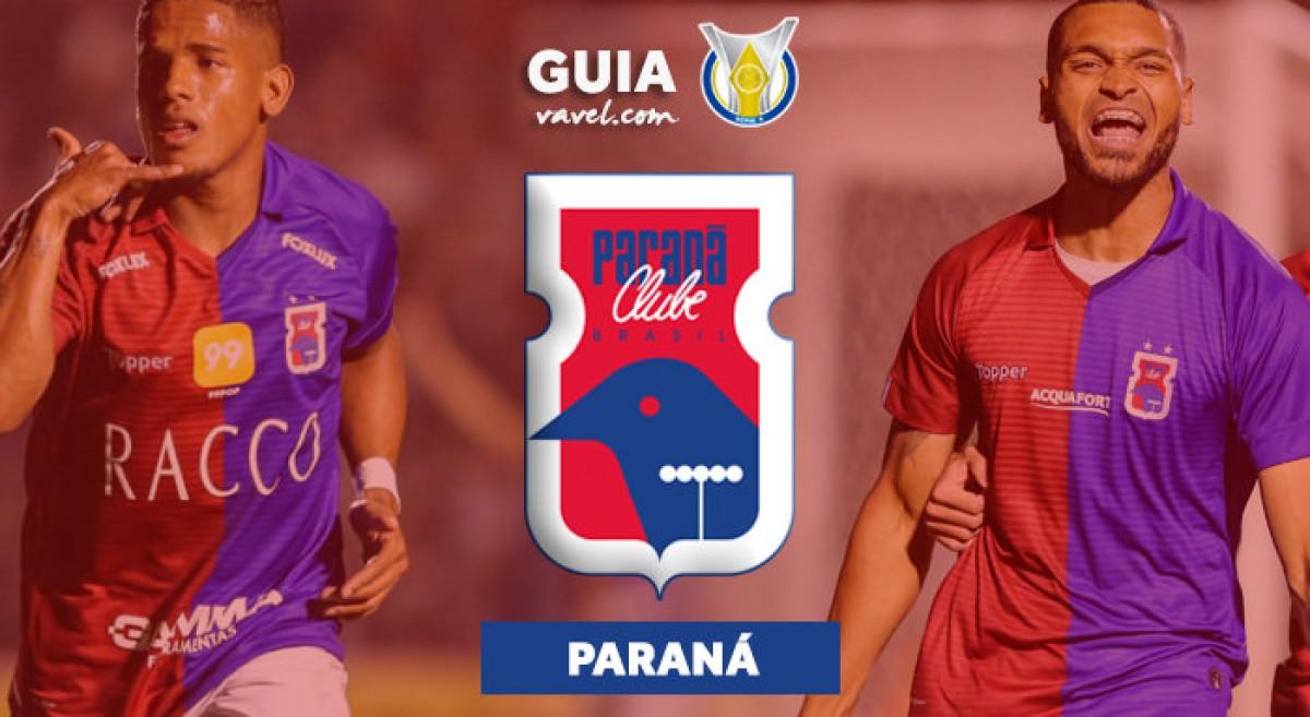 Paraná faz último treino antes da estreia na Série A do Brasileirão