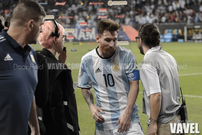 Lionel Messi breaks Argentine goalscoring record with free kick against United States