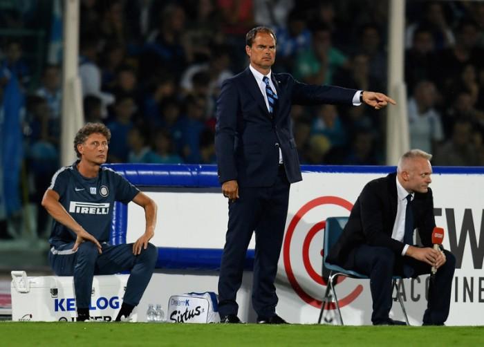 Inter, De Boer nel post partita