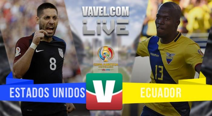 Resultado Estados Unidos vs Ecuador por los cuartos de final de la Copa América Centenario (2-1)