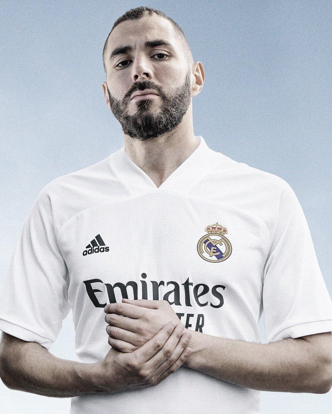 El Real Madrid presenta sus equipaciones para la temporada 20/21
