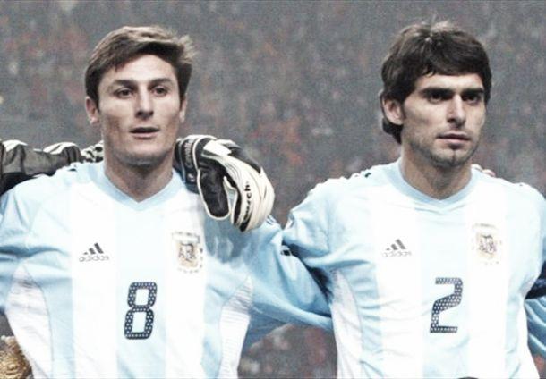Los jugadores con más partidos en la Selección Argentina