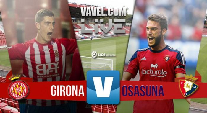 Resultado Girona x Osasuna pelos playoffs de acesso Liga Espanhola 2016 (0-1)