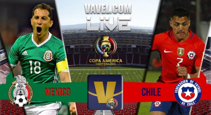 Score Mexico vs Chile in Copa America Centenario Quarterfinal Match (0-7)