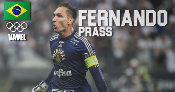 Rumo à Olimpíada: Fernando Prass, goleiro do Palmeiras