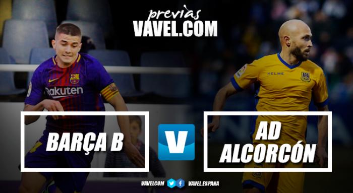 Previa FC Barcelona B – AD Alcorcón: se busca tranquilidad