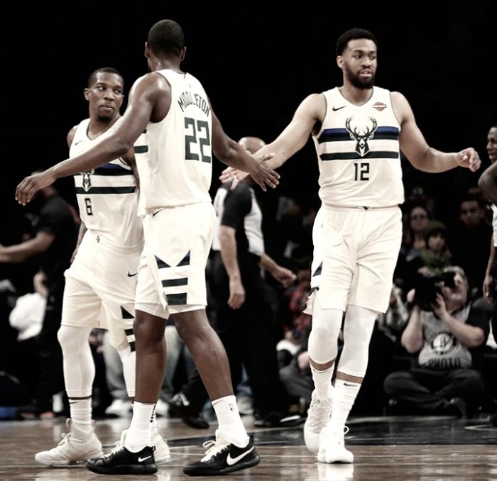 Los Bucks triunfan ante Nets