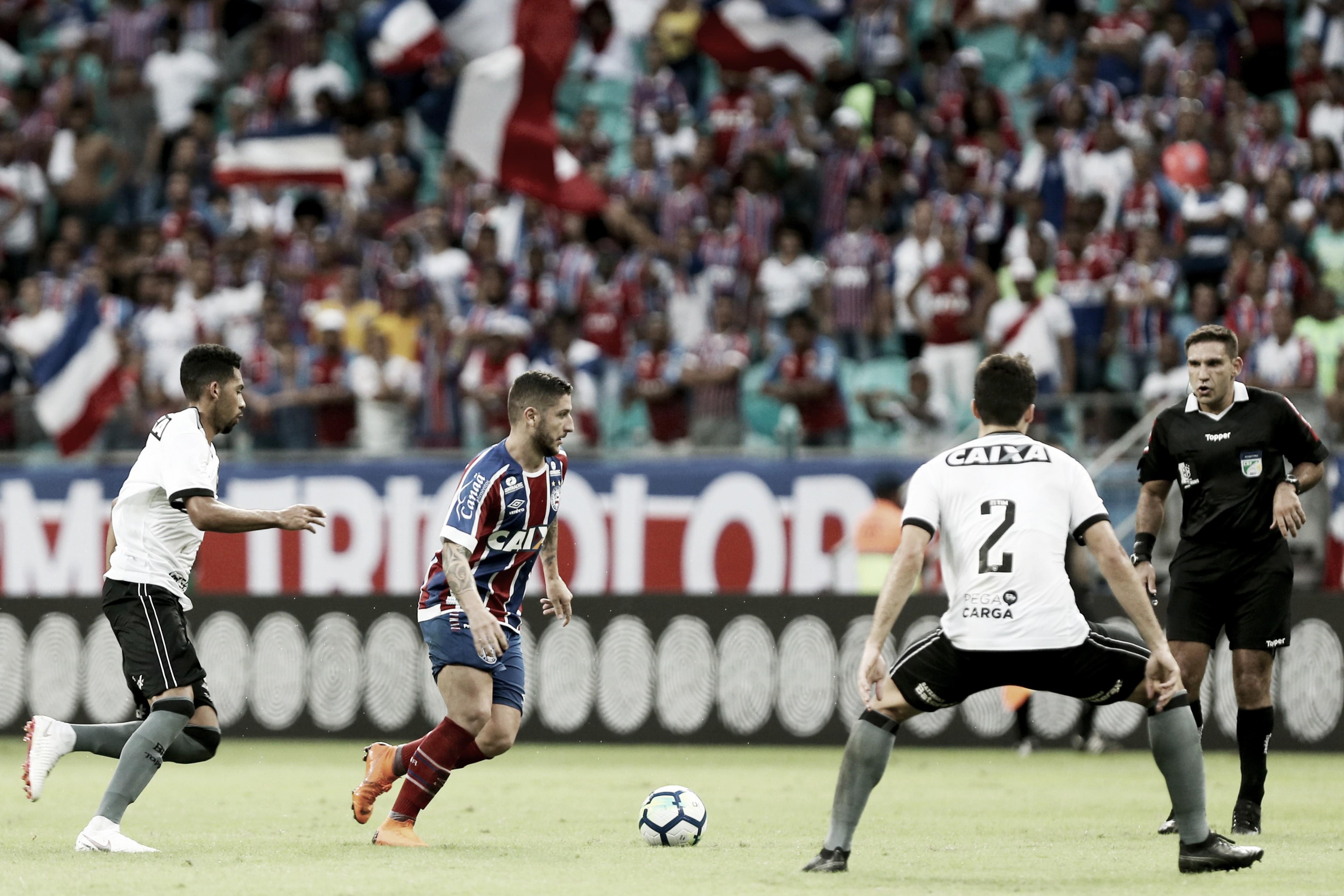 Bahia recebe Botafogo no primeiro duelo das oitavas de final da Sul-Americana