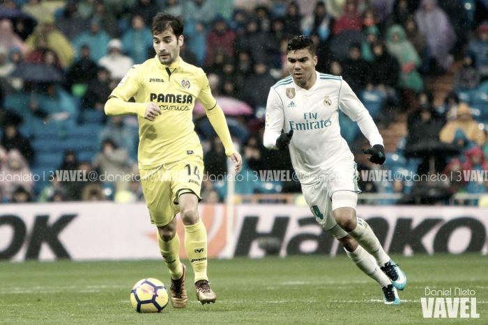 Trigueros: ''Ya tocaba ganar en el Bernabéu''