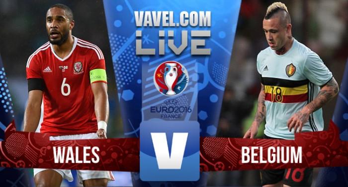 Resultado País de Gales x Bélgica na Eurocopa 2016 (3-1)