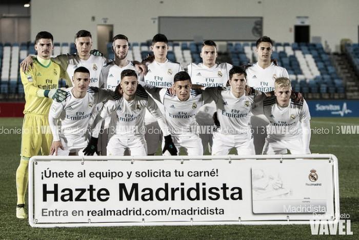 El Real Madrid Castilla permanece invicto en casa