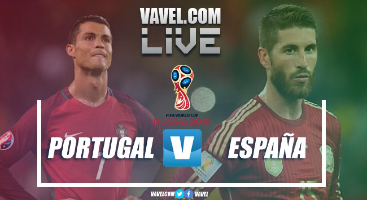 Resumen Portugal vs España en el Mundial 2018 (3-3)