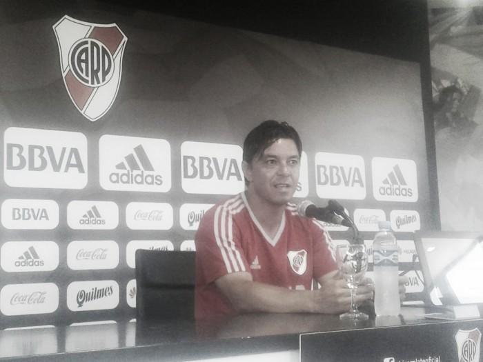 """Gallardo: """"Necesitamos más agresividad futbolística"""""""