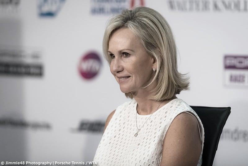 """Micky Lawler, presidenta de la WTA: """"Mientras no haya una vacuna va a ser muy difícil viajar y jugar"""""""