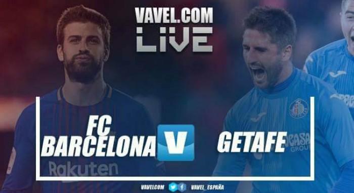 Resumen Barcelona vs Getafe en La Liga 2017/18