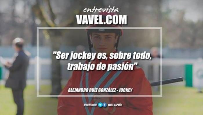 """Entrevista. Alejandro Ruiz: """"Ser jockey es, sobre todo, trabajo de pasión"""""""